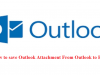 Save Outlook Attachment