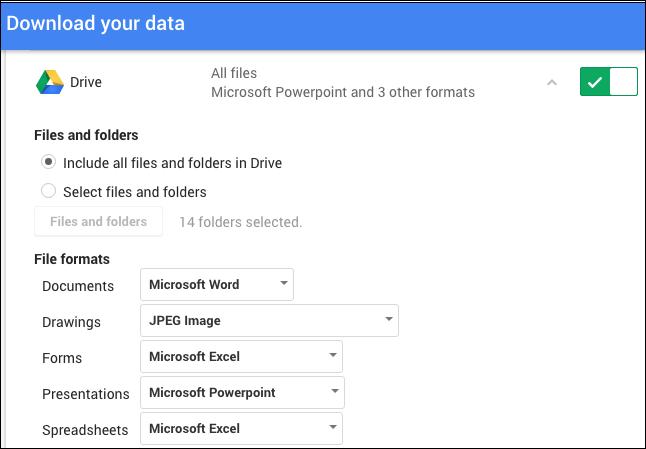 export google documents