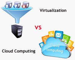 virtualization vs cloud computing