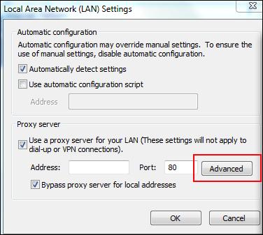 Advanced option fix OAB error