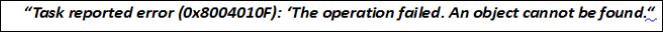 solve outlook error 0x8004010f