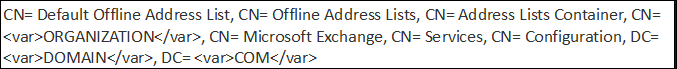 default download offline address