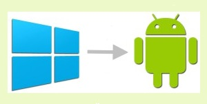 windows contacts to android