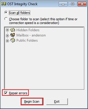 Outlook 2010 Offline File