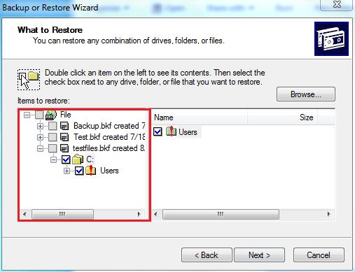 desired files/folders