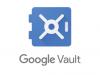 google vault export