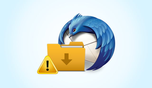 Resolve Impossible to Import in this Folder Error in Thunderbird