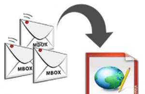 mac MBOX to HTML