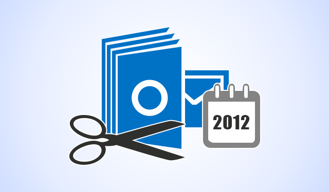 split outlook archive by year