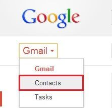 import multiple vCard files to Gmail-6