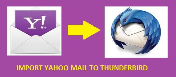 import Yaoo mail to Thunderbird
