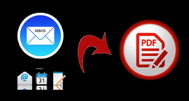 MBOX to PDF