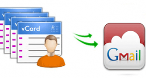 import multiple vCard files to Gmail-f