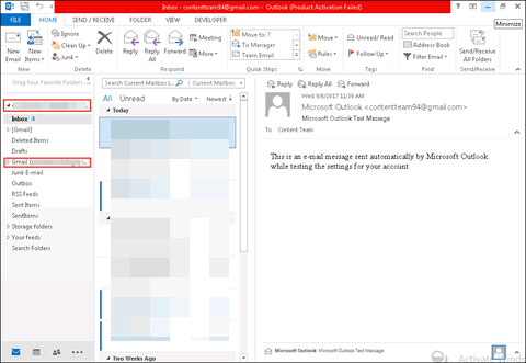 wlm emails to outlook 2013