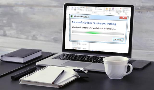 Outlook is not responding error