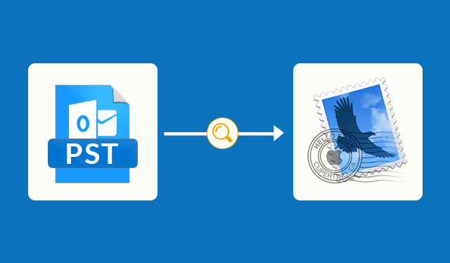 can apple mail read outlook pst files