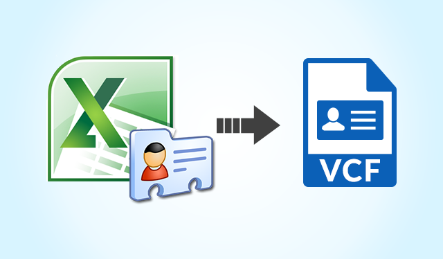 How to Export Excel XLS ⁄ XLSX Contacts to vCard ⁄ VCF File