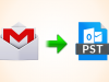 Export Gmail to PST