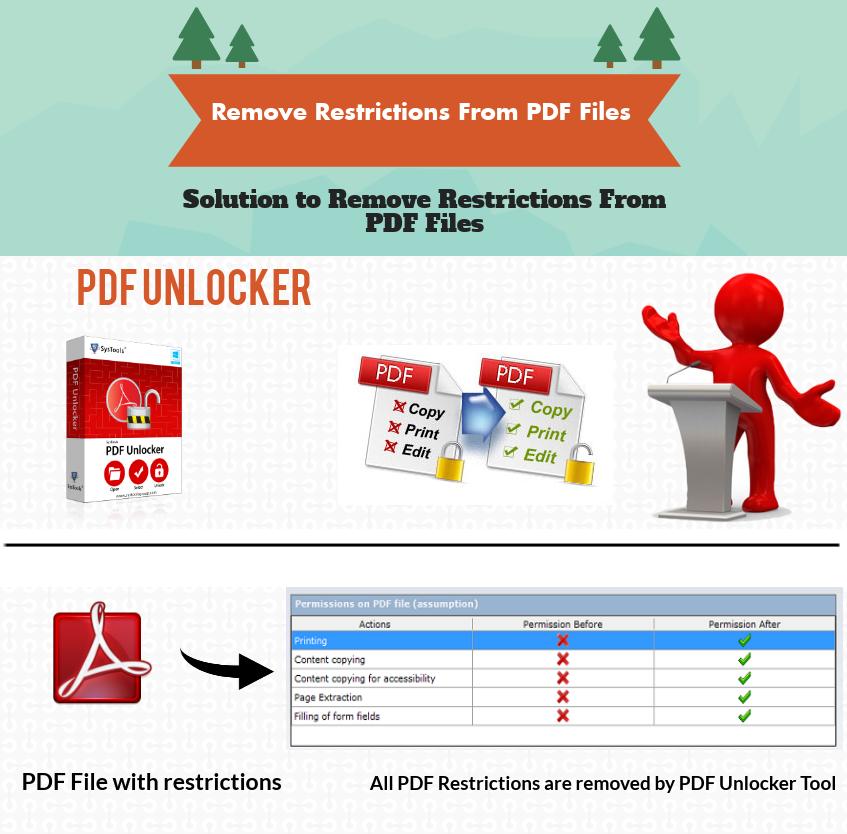 remove PDF file security