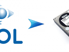 AOL emails to hard drive