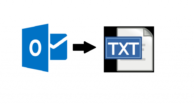 Outlook to Plain Text