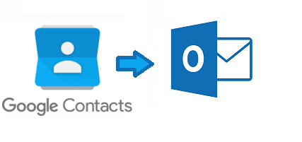 google apps contacts to outlook