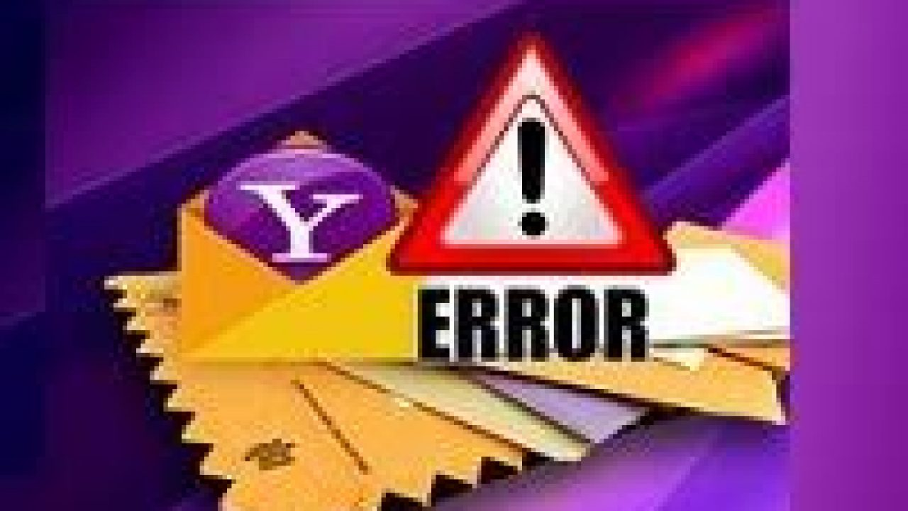 how to remove yahoo error – troubleshoot top yahoo mail errors
