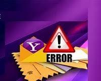 How to Remove Yahoo Error