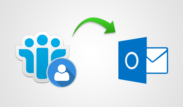 Notes Contacts to Outlook