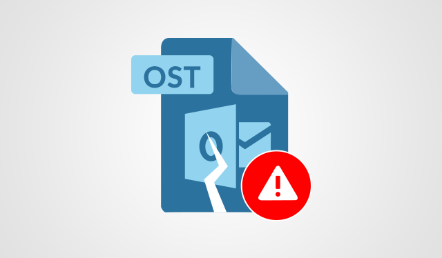 OST File Load Error