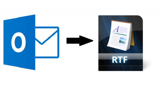 save Outlook email as RTF