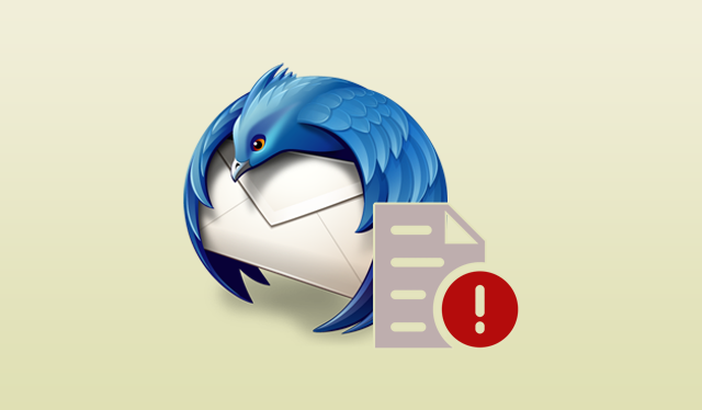 unable to open temporary file in thunderbird