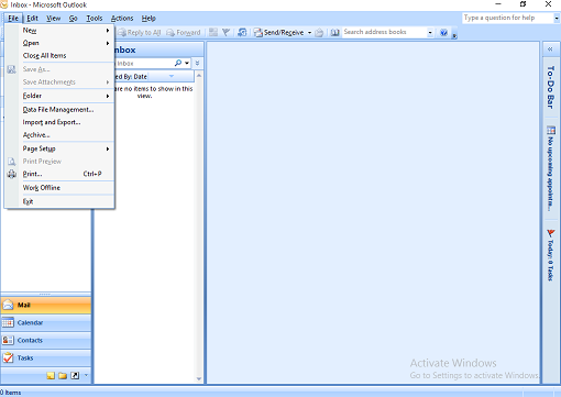 import contacts to yahoo from outlook