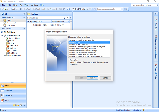 export outlook 2010 contacts to yahoo