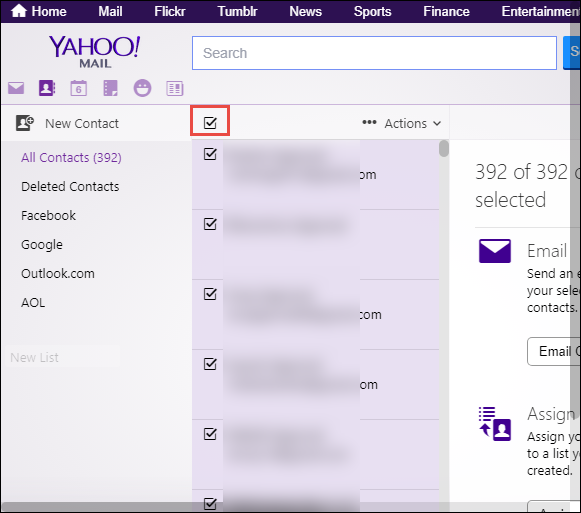 transfer yahoo contacts to icloud