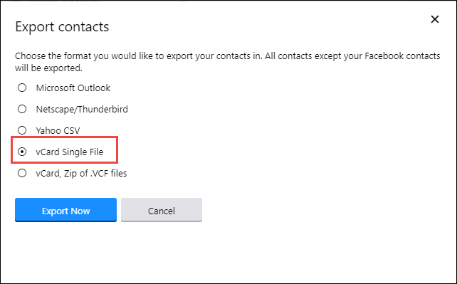 move  contacts from yahoo to icloud