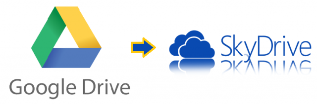 Migrate Google-Drive to MIcrosoft SkyDrive