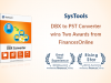 systools dbx to pst converter award image