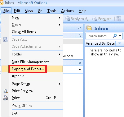 export Outlook contacts to iCloud
