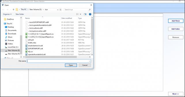 Import Opera Mail MBS to Thunderbird Mbox in Bulk