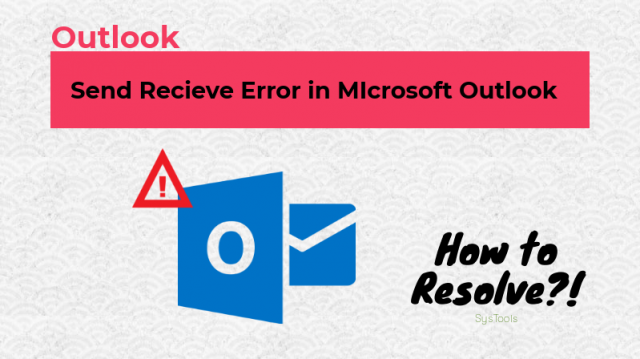 send receive error in outlook