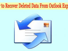 recover deleted data from outlook express