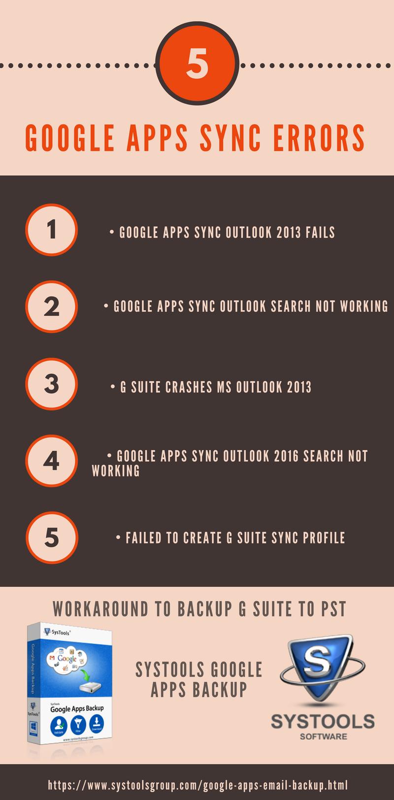 Google Apps Sync Error Outlook
