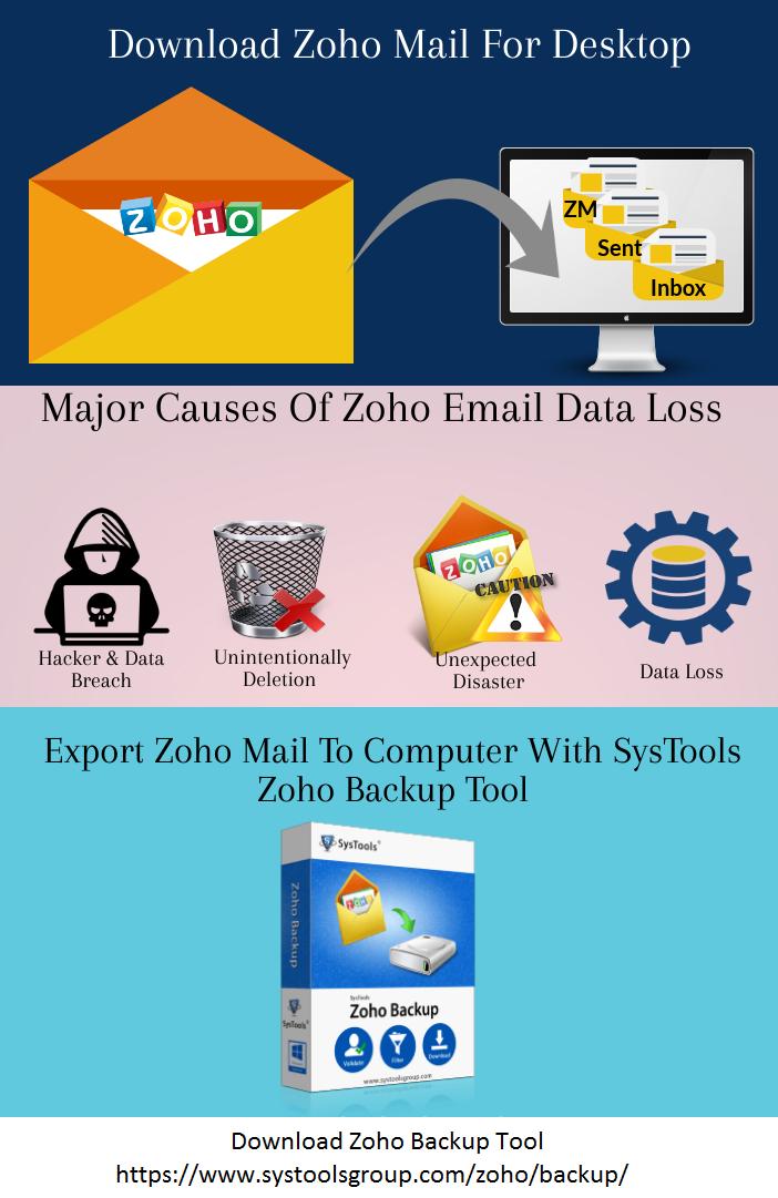 Download Zoho mail for desktop