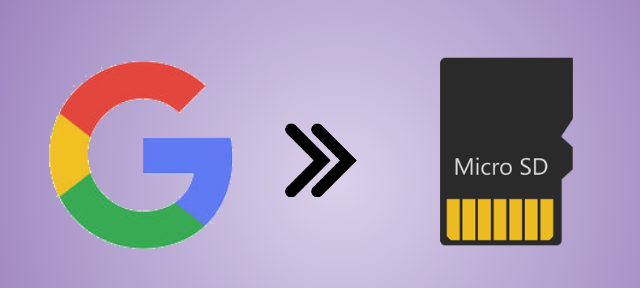 Download Google Apps to SD Card