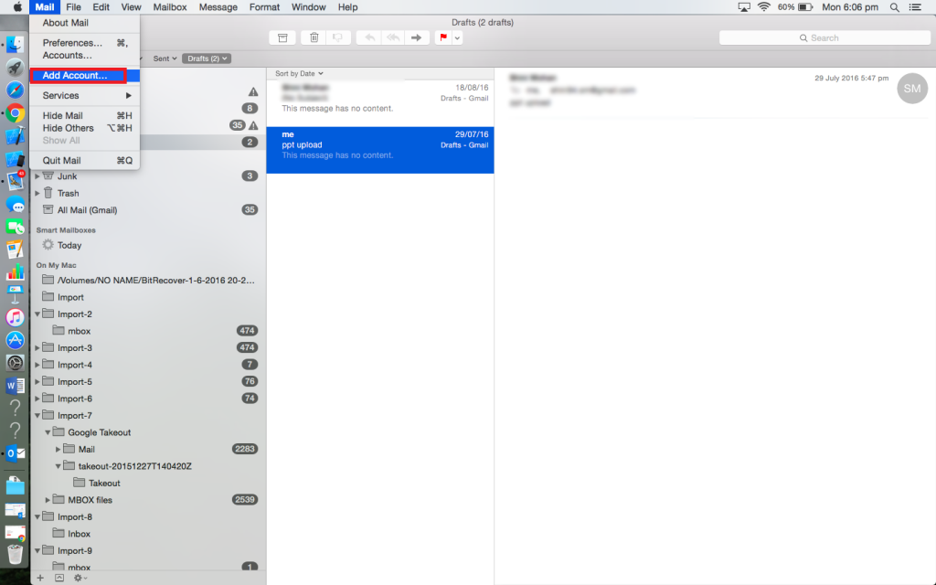 How to Open Apple Mail in Outlook 2011, 2016 & Entourage – A