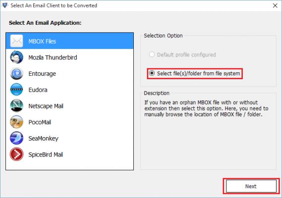 select file/folder