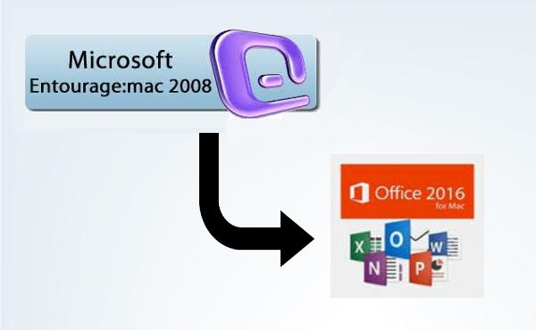 Entourage 2008 to Office 2016