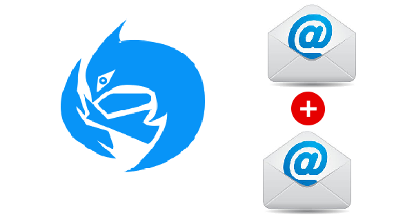 merging two thunderbird mail storage in outlook