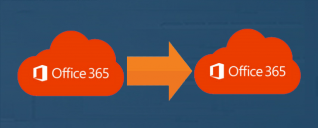 migrate mail one office 365 account to another